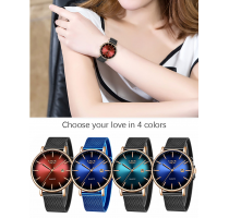 LIGE Women Watches Top Brand Luxury 2+1 ZDARMA