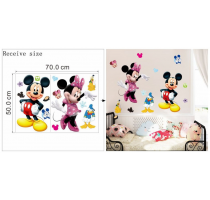Hot Mickey Mouse Minnie mouse wall sticker children