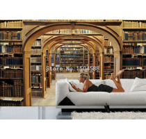 Personalized Customization Spatial Extension Library Bookshelf Photo