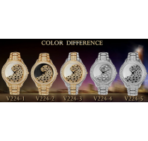 Miss Fox Role Luxury Watch Men Diamond Gold Mens Watches