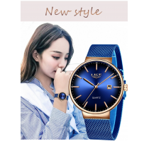 LIGE Brand Luxury Women Watches Fashion Quartz 2020